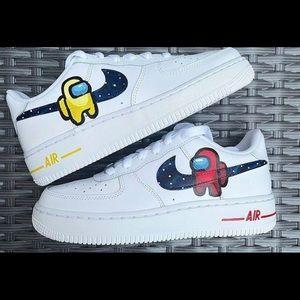 Custom Air Force 1 Nike Among Us